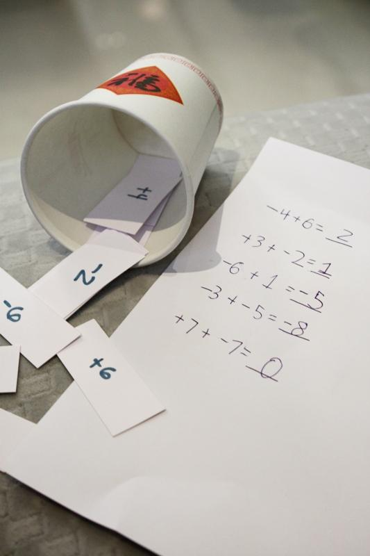 number line game