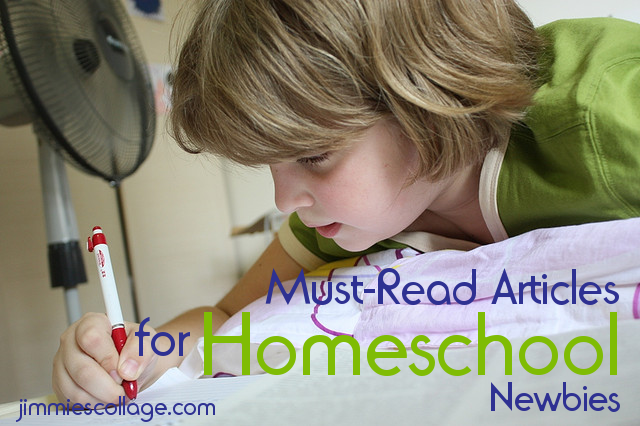 Must Read Articles for Homeschool Newbies