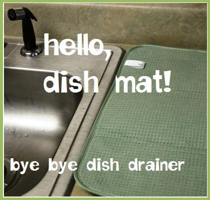 Kitchen Dish Drainer Mat - Kitchen Appliances Tips And Review