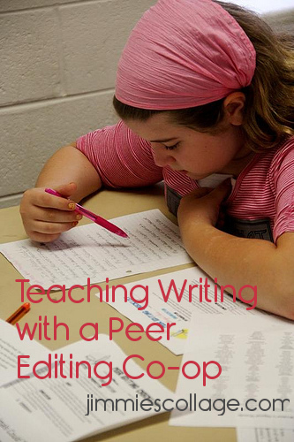 Teaching Writing with a Peer Editing Co-op