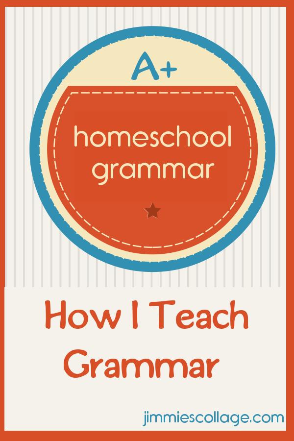 grammar for homeschool