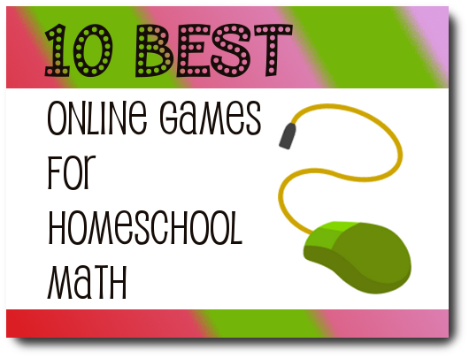 Online Math Games for Homeschool
