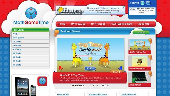 Online Math Games