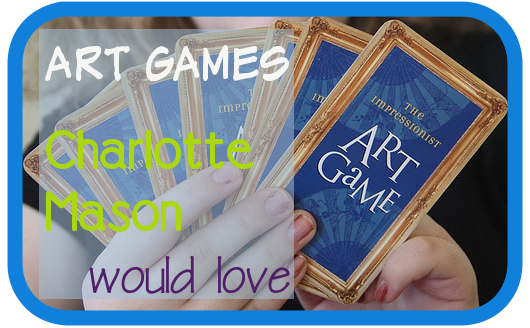 Art Games Charlotte Mason Would Love:  Birdcage Press
