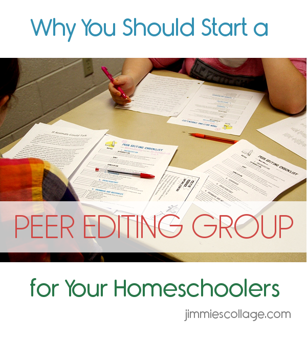 Why You Should Start a Peer Editing Group for Your Homeschoolers