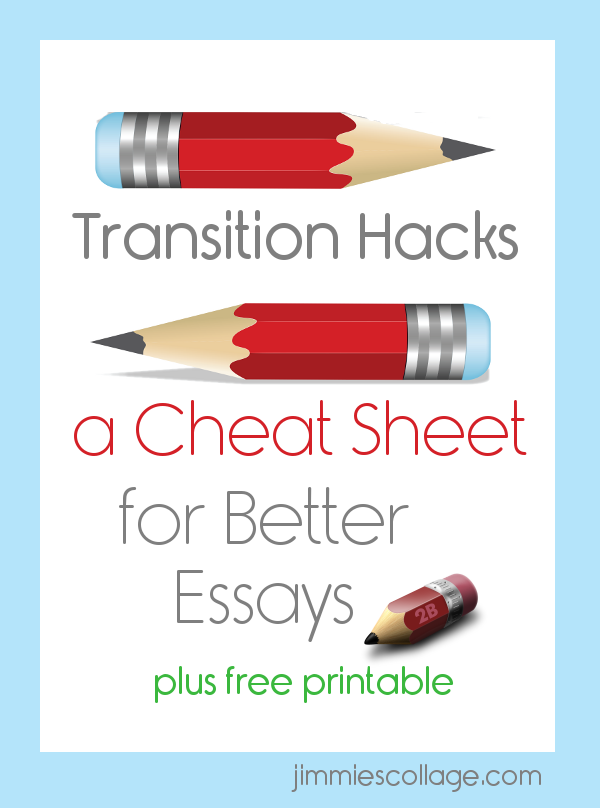 Teaching Homeschool Writing: Transitions