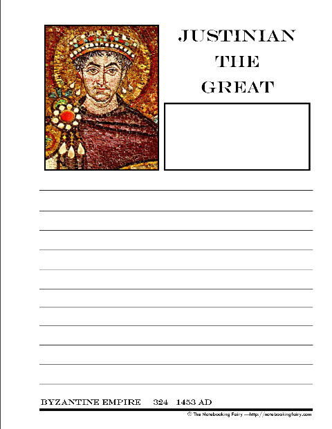 Justinian the Great and Byzantium