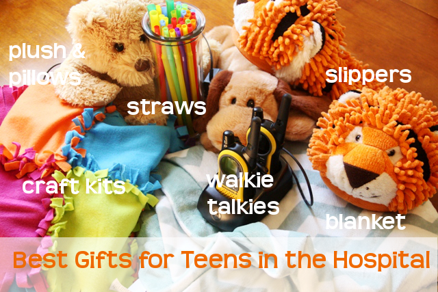 Gifts for a teen after surgery -- in the hospital or recovery at home
