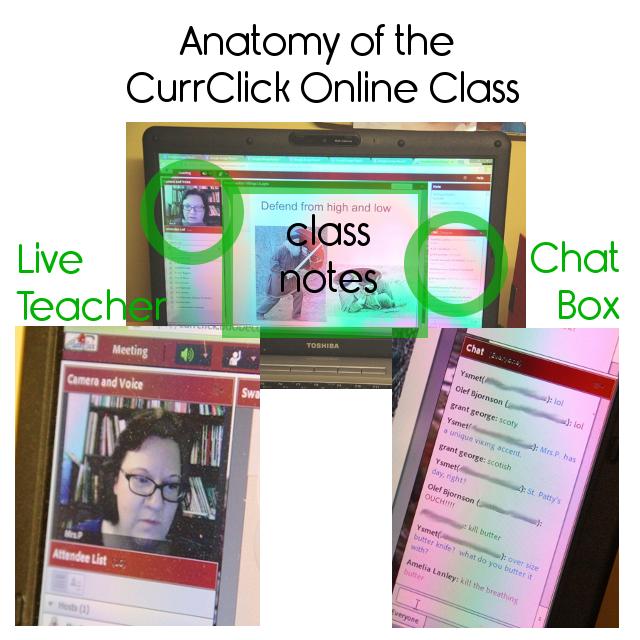 Anatomy of an online class
