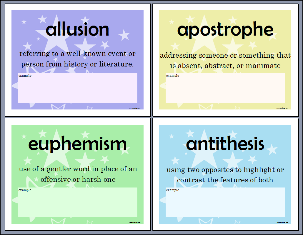 antithesis as a literary term Antithesis means opposite and is used as a literary device to put two contrasting ideas together take a look at some examples that show how this works.