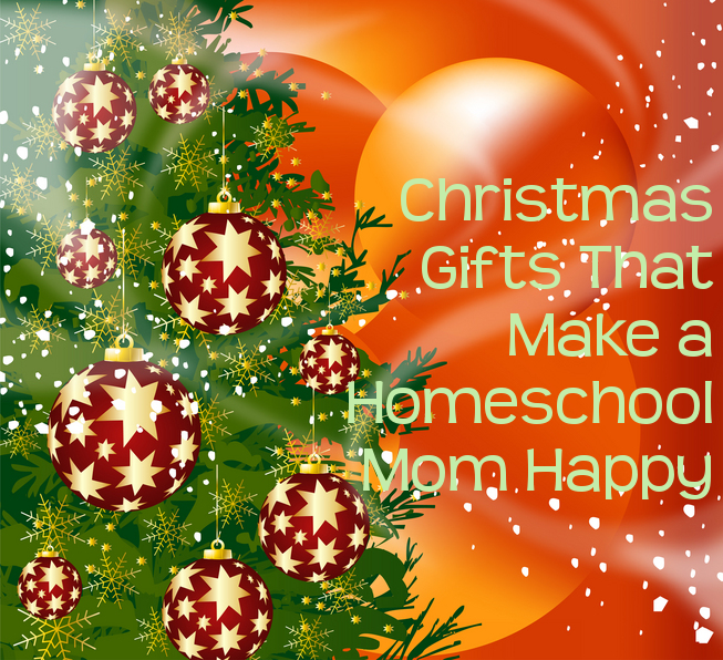 Christmas Gifts That Make a Homeschool Mom Happy