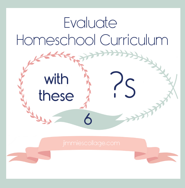 Evaluate Curriculum with These Six Questions