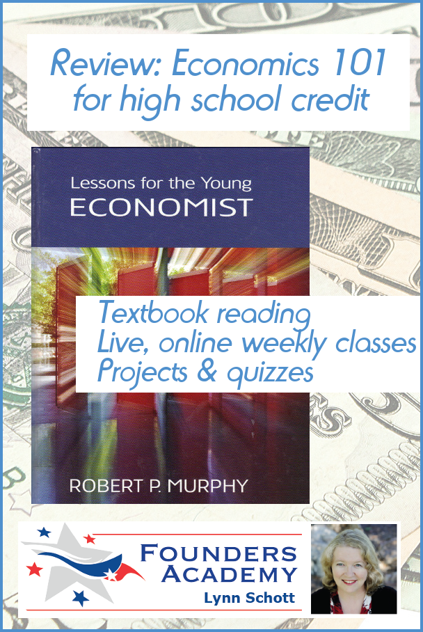 high school credit for economics by founders academy