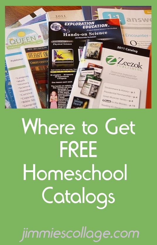 Where to Get Free Homeschool Catalogs