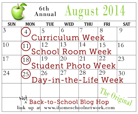 Not Back to School Blog Hop 2014