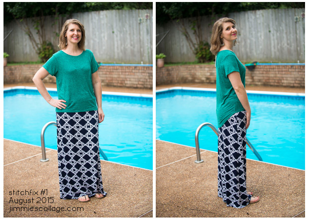 StitchFix Reject #1 Sam Hi-Lo Short Sleeve Tee by Market and Spruce