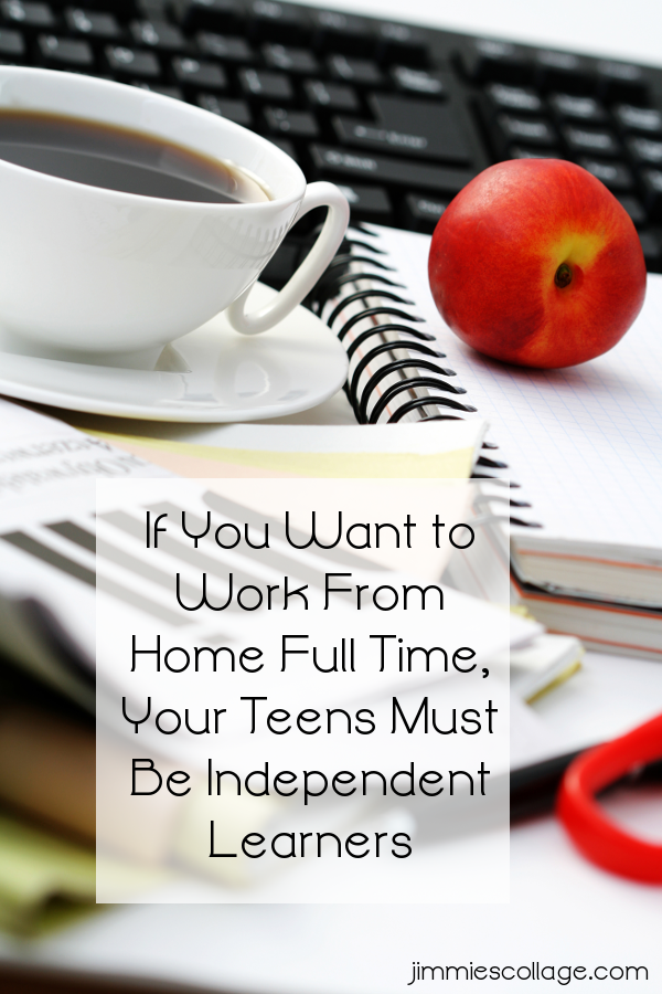 If You Want to Work From Home Full Time, Your Teens Must Be Independent Learners