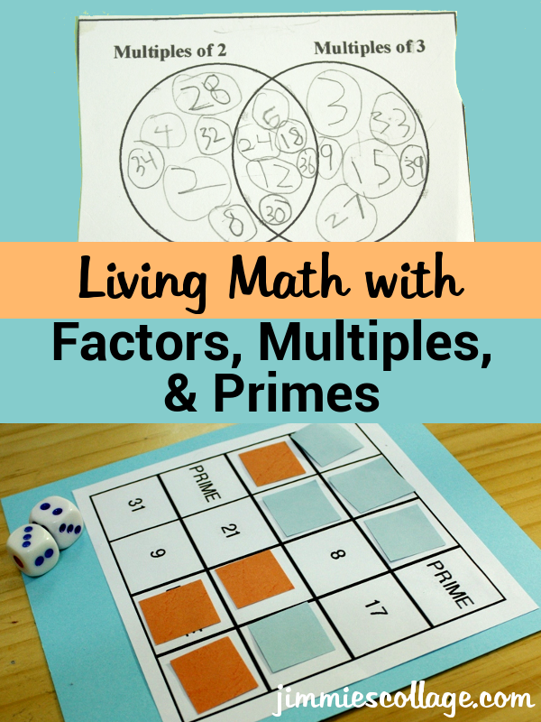 photo regarding Factor Game Printable called Dwelling Math with Reasons, Multiples, and Primes