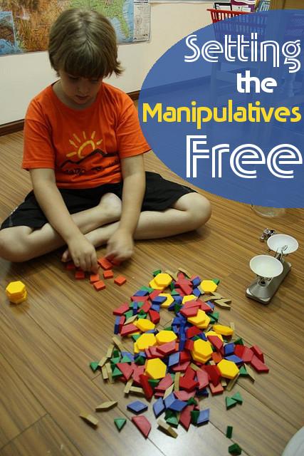 Set the Manipulatives Free