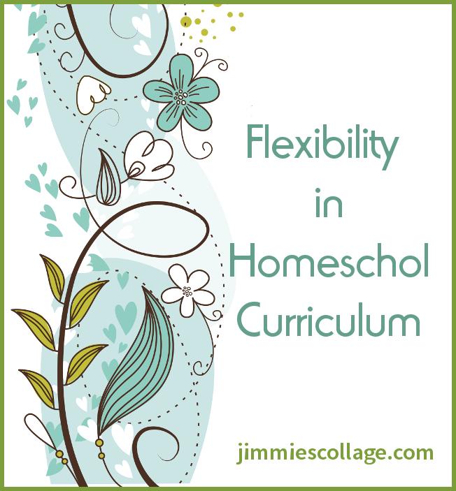 flexibility in homeschool curriculum