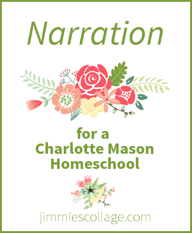 narration in a Charlotte Mason homeschool
