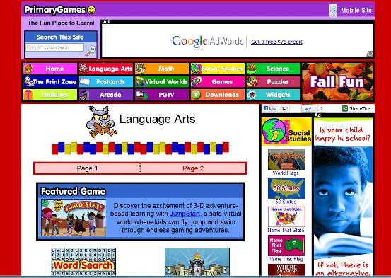 10 Best Online Games for Homeschool Language Arts