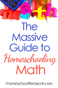 The Massive Guide for Homeschooling Math