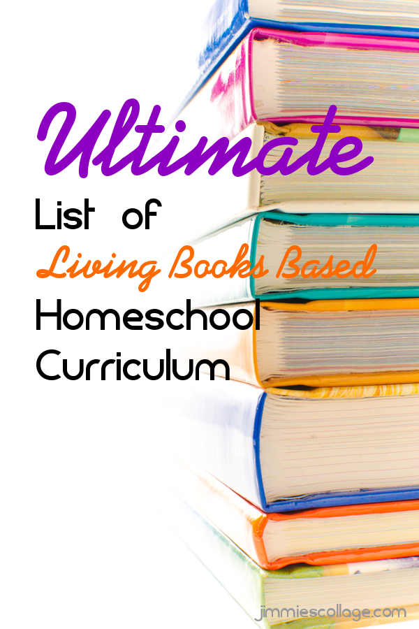 Ultimate list of living books based curriculum fandeluxe