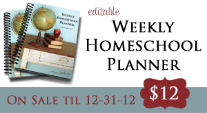 Homeschool Planner Sale