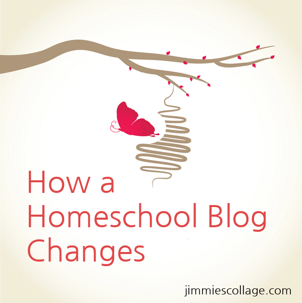 How a Homeschool Blog Changes jimmiescollage.com