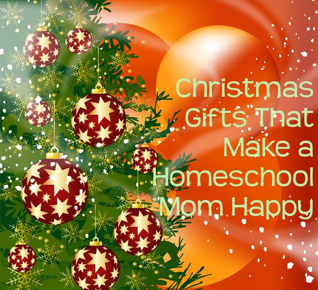 Christmas Gifts That Make a Homeschool Mom Happy