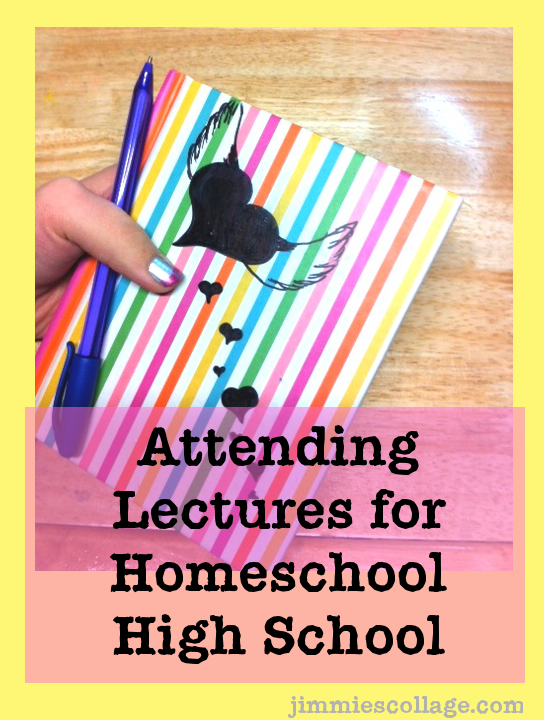 Attending Lectures for Homeschool High School