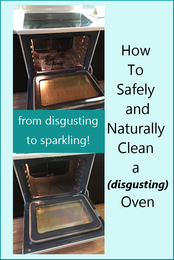 How to Safely and Naturally Clean a Disgusting Oven