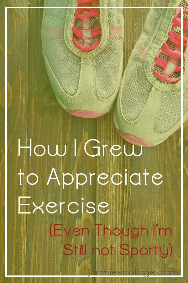 How I Grew to Appreciate Exercise (Even Though I'm Still not Sporty)