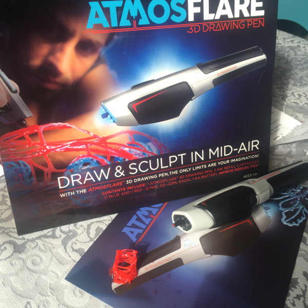 3D Drawing for the Artistic Kid with AtmosFlare 3D Pen